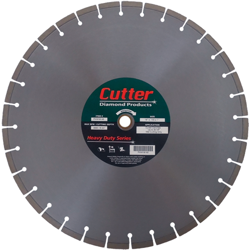 Wet Cutting Floor Saw Blades - Concrete (Heavy Duty) Image