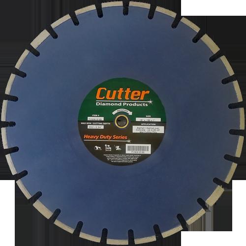 Wet Cutting Floor Saw Blades - Asphalt (Heavy Duty) Image